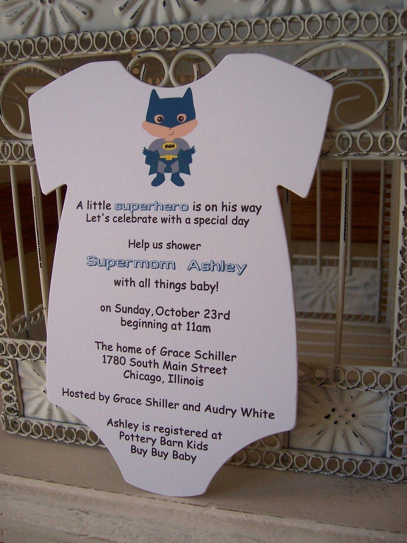 Superhero Baby Shower Invitations Free Fresh Superhero Baby Shower Invitation Custom Die Cut