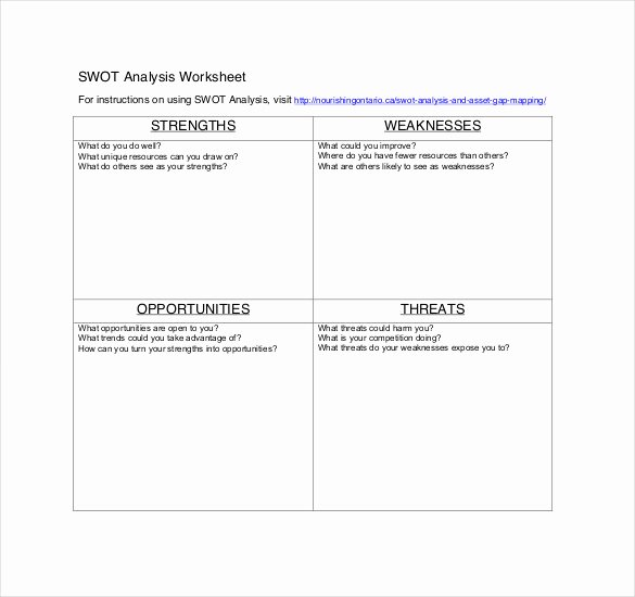 Swot Analysis Example for Healthcare Awesome 11 Healthcare Swot Analysis Word Pdf Google Docs