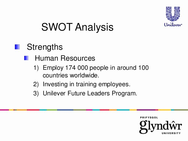 Swot Analysis for Hr Department Elegant Swot Analysis Of Unilever
