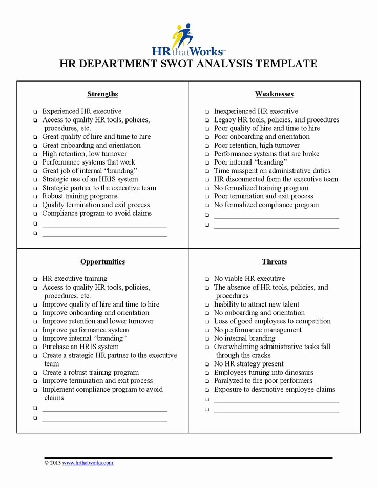 Swot Analysis for Hr Department Fresh 13 Best Hr that Works Images On Pinterest