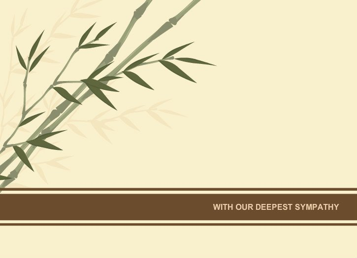 Sympathy Cards Free Printable Beautiful Sympathy Cards Sympathy Card Bamboo