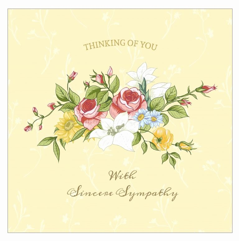 Sympathy Cards Free Printable Best Of 7 Free Printable Condolence and Sympathy Cards