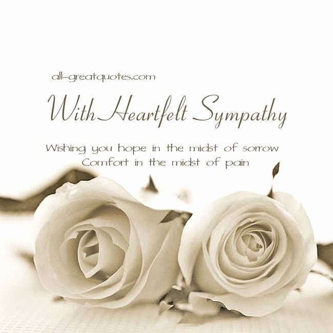 Sympathy Cards Free Printable Inspirational Free Sympathy Condolences Cards for