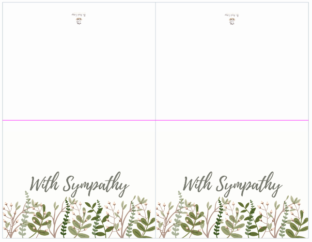 Sympathy Cards Free Printable Unique A Bundle Of Joy & some Heartbreaking News with Printable