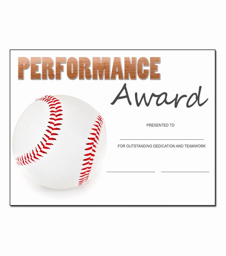 T Ball Award Certificates Inspirational Baseball Award Template Kukook
