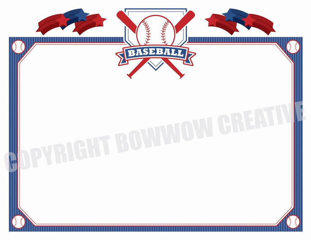 T Ball Award Certificates Lovely Baseball Certificate softball Tee Ball Award Border