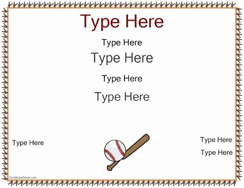 T Ball Award Certificates Luxury 11 Best Images About T Ball On Pinterest