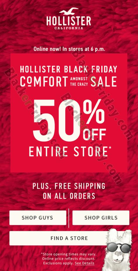 T Shirt Sale Flyer Best Of Hollister Co Black Friday 2018 Sale & Deals Blacker Friday