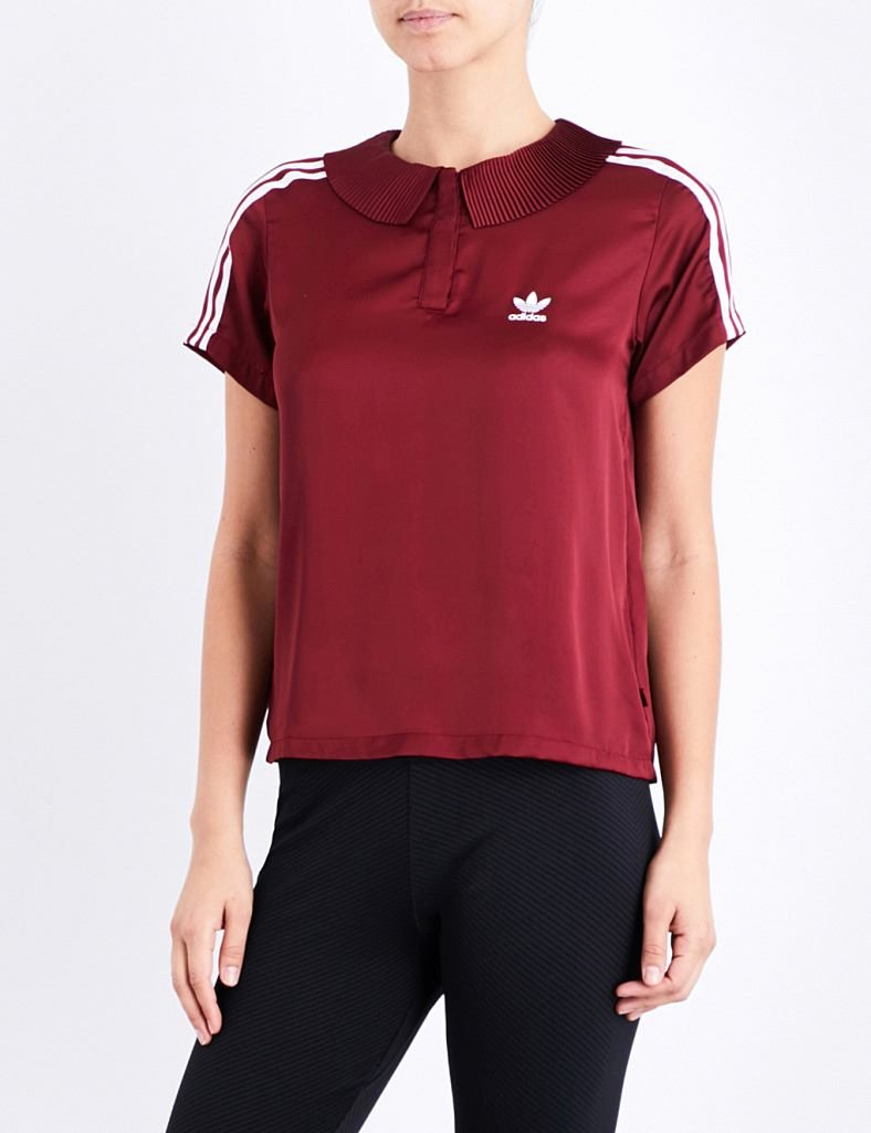 T Shirt Sale Flyer Inspirational Special Offer Adidas originals 3 Stripes Pleated Satin