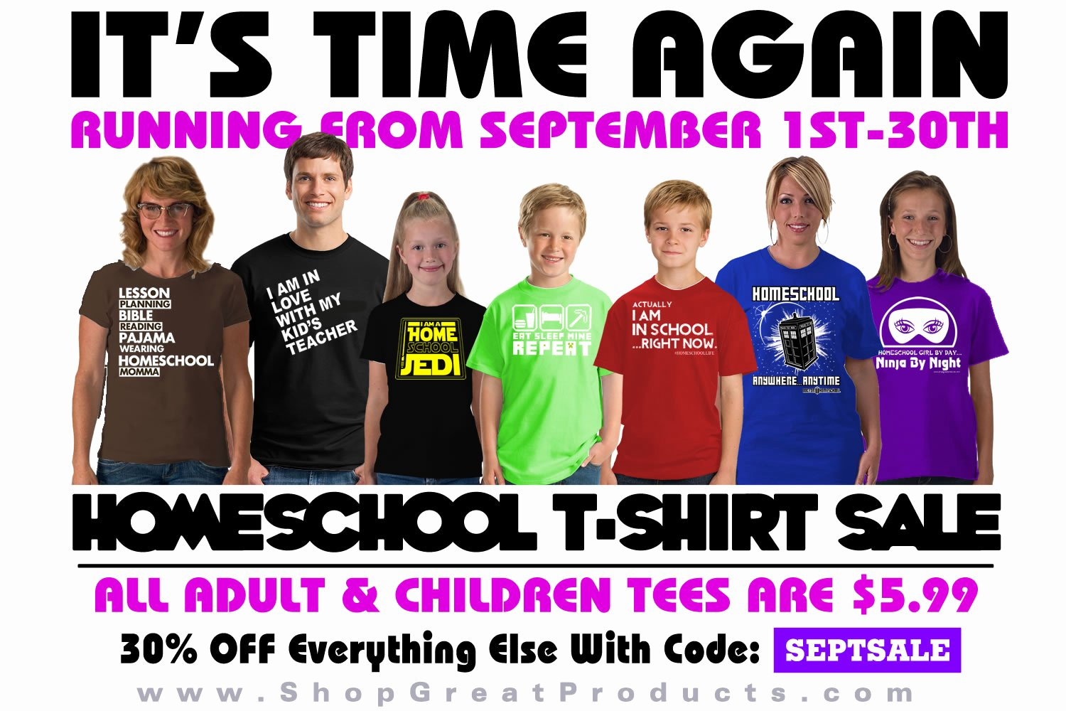 T Shirt Sale Flyer Lovely Chickensbunniesandhomeschool Shop Great Products $5 T