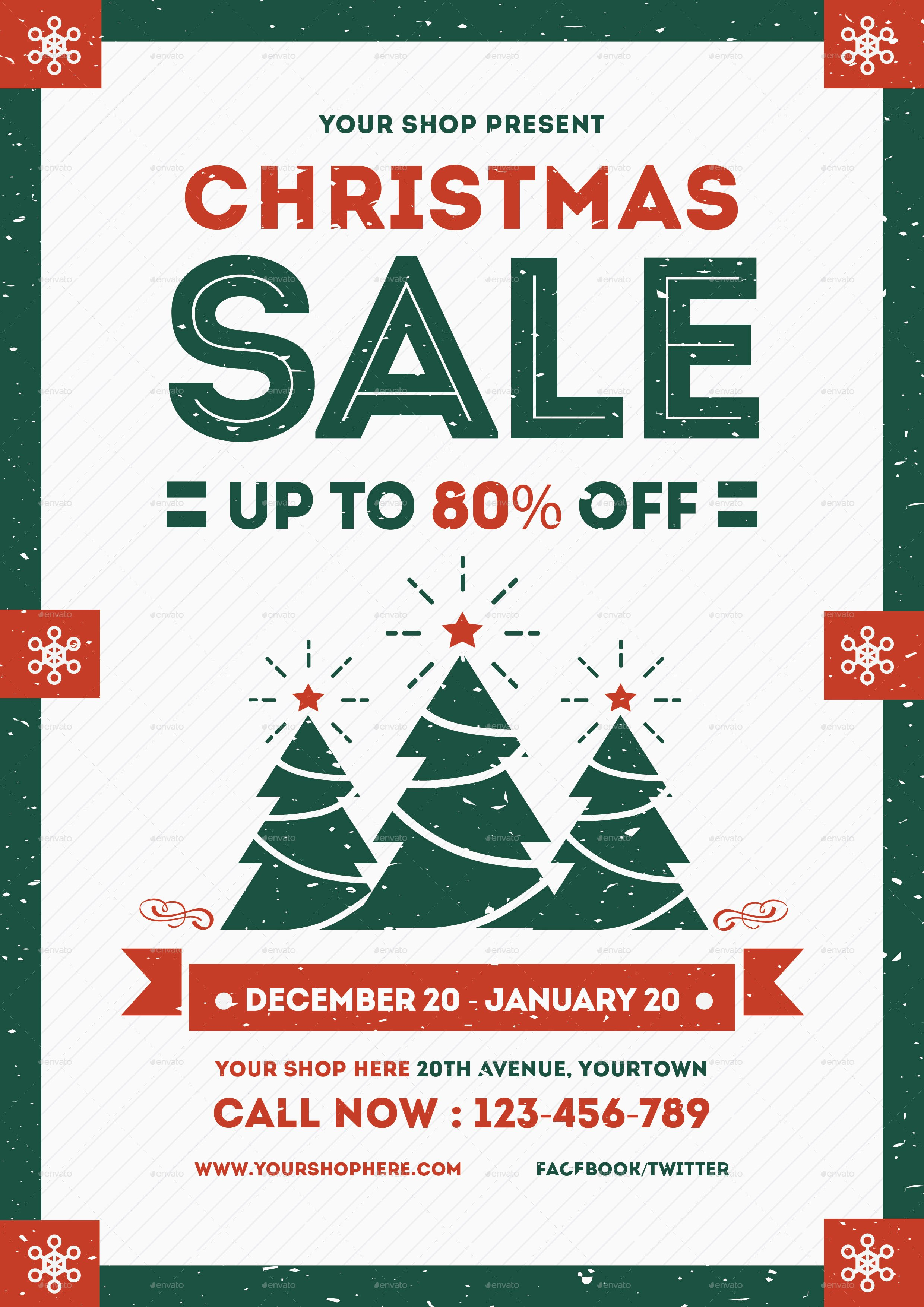 T Shirt Sale Flyer Lovely Flyer Christmas Sale by Lilynthesweetpea