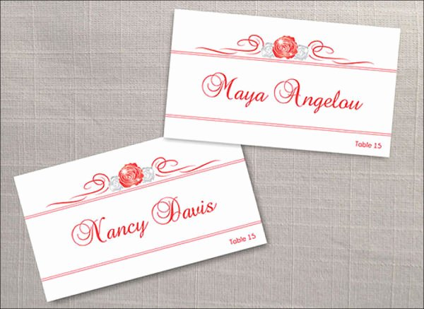 Table Name Tag Template Lovely 7 Name Tag Templates Psd Ai Vector Eps