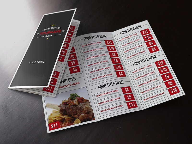 Table Tent Template Illustrator Awesome Multimenu Template by Luuqas Design On Dribbble