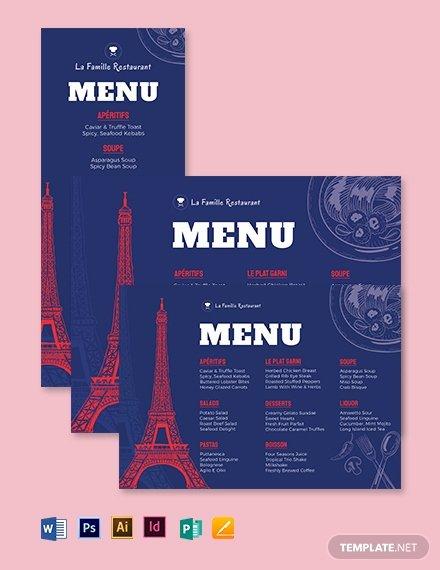 Table Tent Template Illustrator Best Of 405 Free Menu Templates Pdf Word Psd