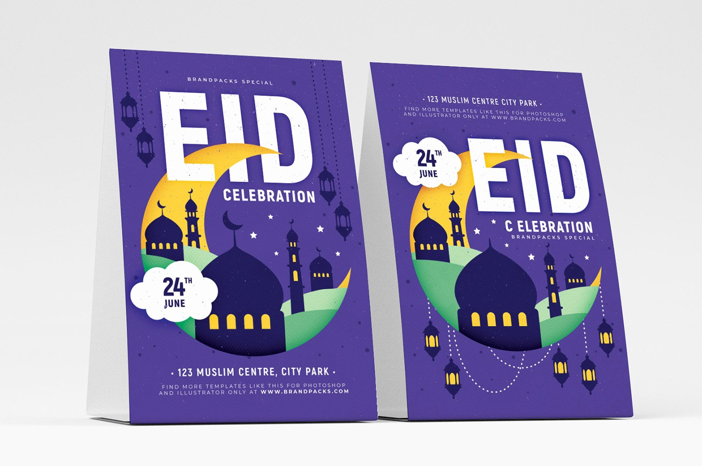 Table Tent Template Illustrator Inspirational Free Eid Flyer Template Psd Ai & Vector Brandpacks