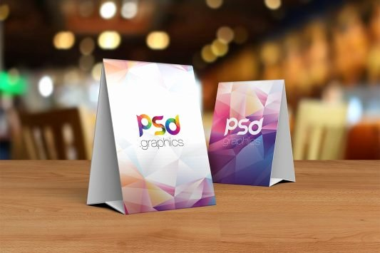 Table Tent Template Photoshop Beautiful Download Free Psd Graphics Free Mockup Psd Files & More