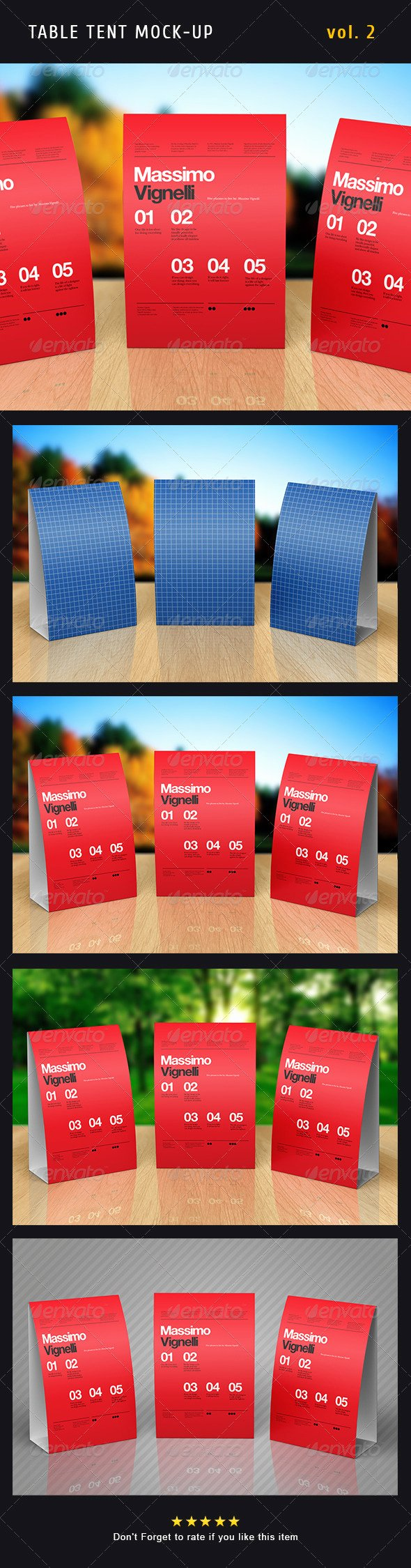 Table Tent Template Photoshop Luxury Paper Table Tent Mock Up Template Vol 2 Promotion