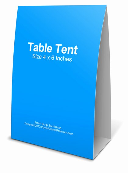 Table Tent Template Photoshop New 4×6 Table Tent Mockup – Cover Actions Premium