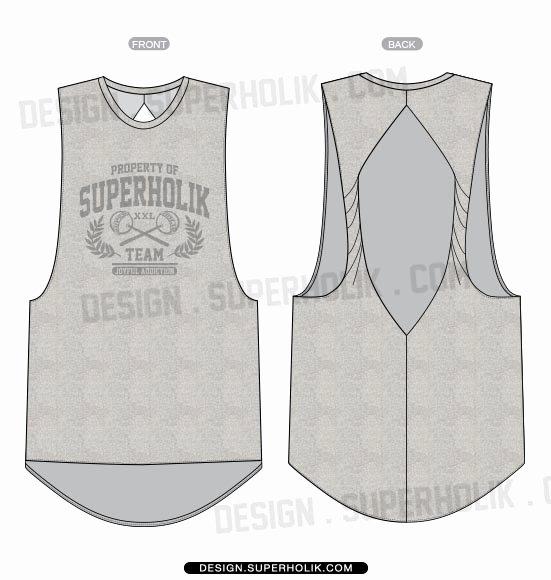 Tank top Template Unique Fashion Design Templates Vector Illustrations and Clip