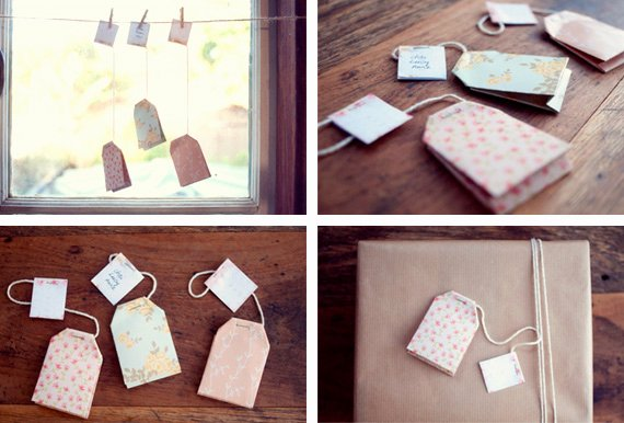 Tea Bag Tags Template Elegant Diy Teabags