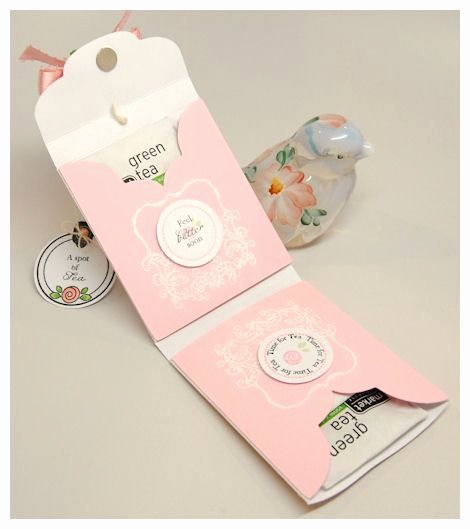Tea Bag Tags Template Fresh Create A Template Stamp or Use Deco Paper then Place Two
