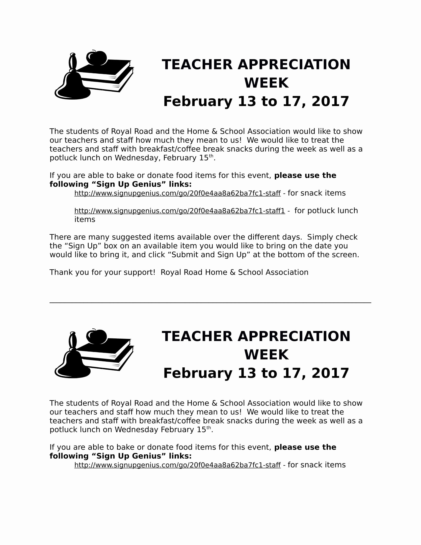 Teacher Appreciation Week Letters Beautiful 11 Teacher Appreciation Letter Templates Pdf Doc