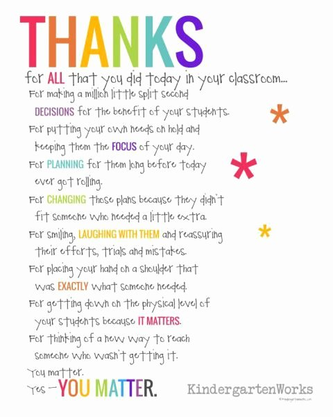 Teacher Appreciation Week Letters Beautiful if You Didn T Hear This From Anyone today