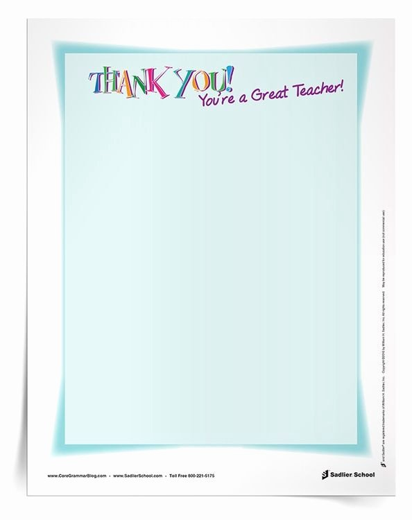 Teacher Appreciation Week Letters Fresh Writing Thank You Messages to Teachers is A Great Way to