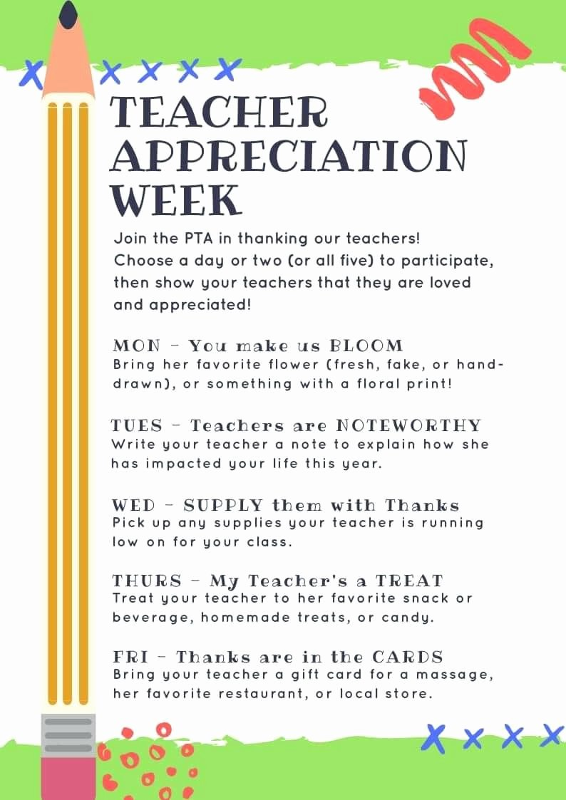 Teacher Appreciation Week Letters New Pin by Kathy Ungaro Delong On Ptg Stuff