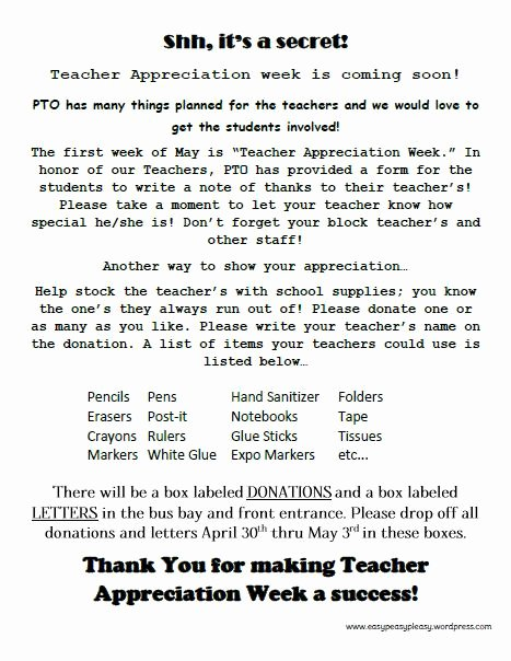 Teacher Appreciation Week Letters Unique How to Show Teacher Appreciation In A Big Way Easy