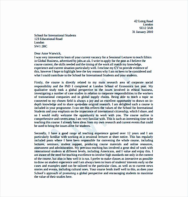Teacher Cover Letter with Experience Beautiful Create A Good Teacher Cover Letter