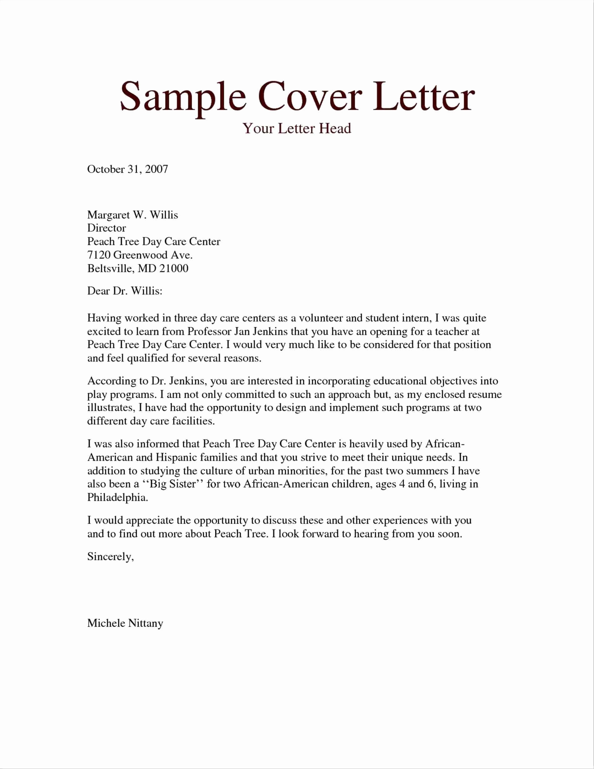 Teacher Cover Letters with Experience Lovely Pin by Joanna Keysa On Free Tamplate