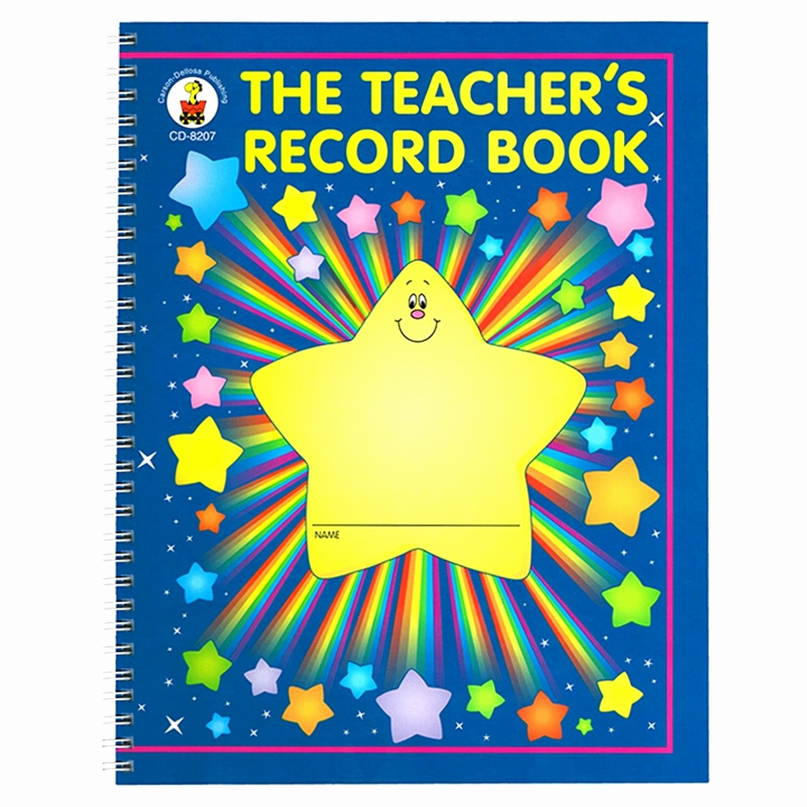 Teachers Record Book Template Lovely Teachers Record Book Gas Mileage Corporate Template Trip