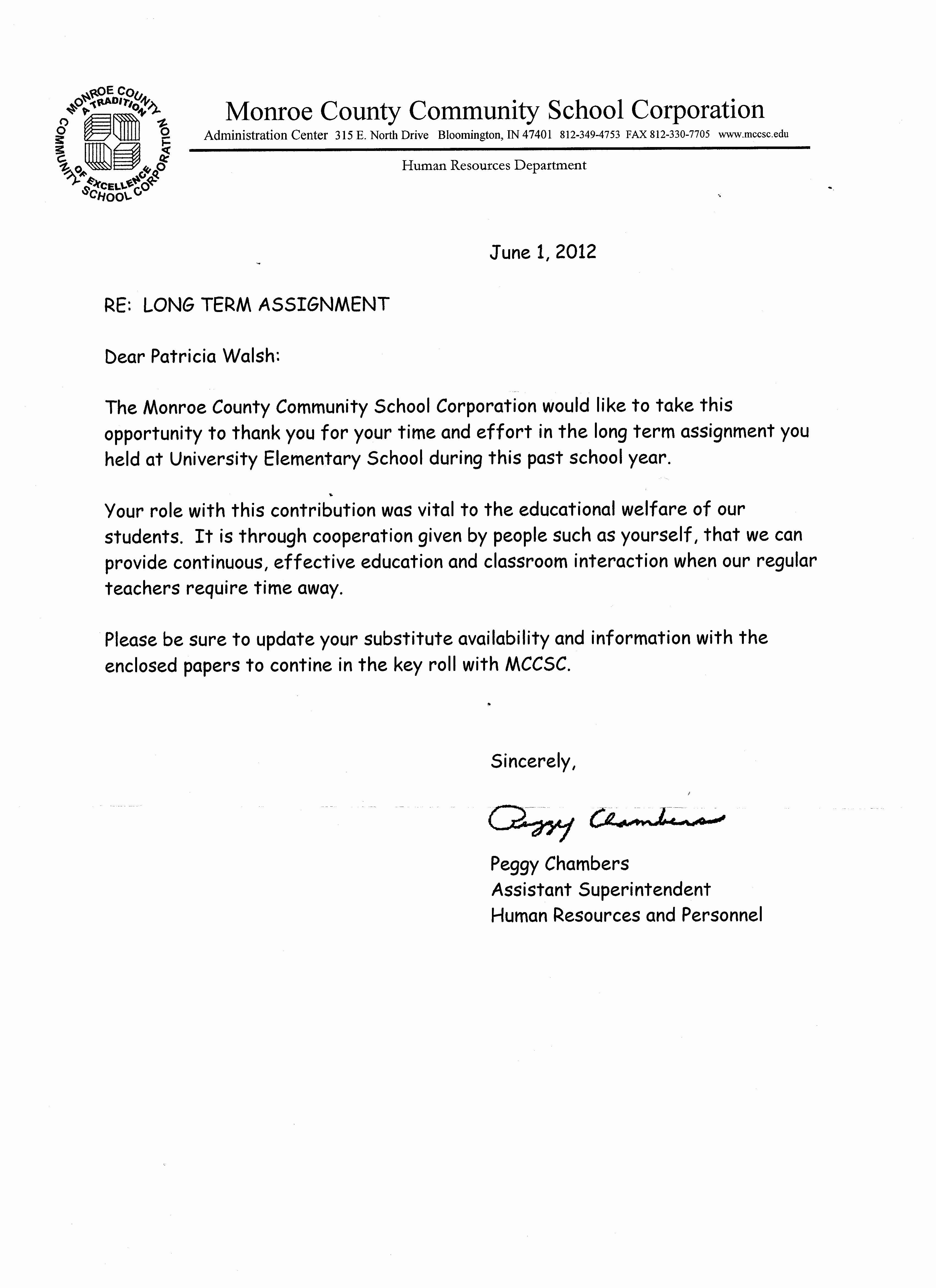 Teaching Letter Of Recommendation Unique Evaluations Re Mendations Patti Walsh S Teaching Portfolio