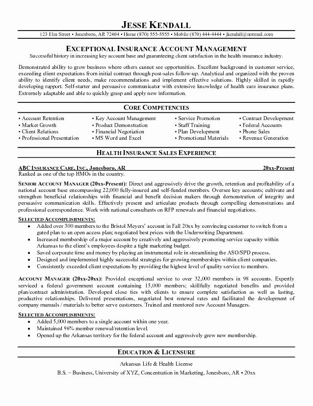 Technical Account Manager Resume Beautiful Insurance Claims Clerk Work Resume Sample