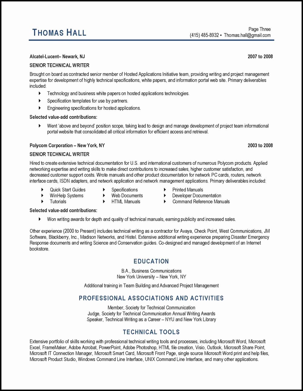 Technical Writer Resume Examples Elegant Technical Writer Resume Example and Expert Tips