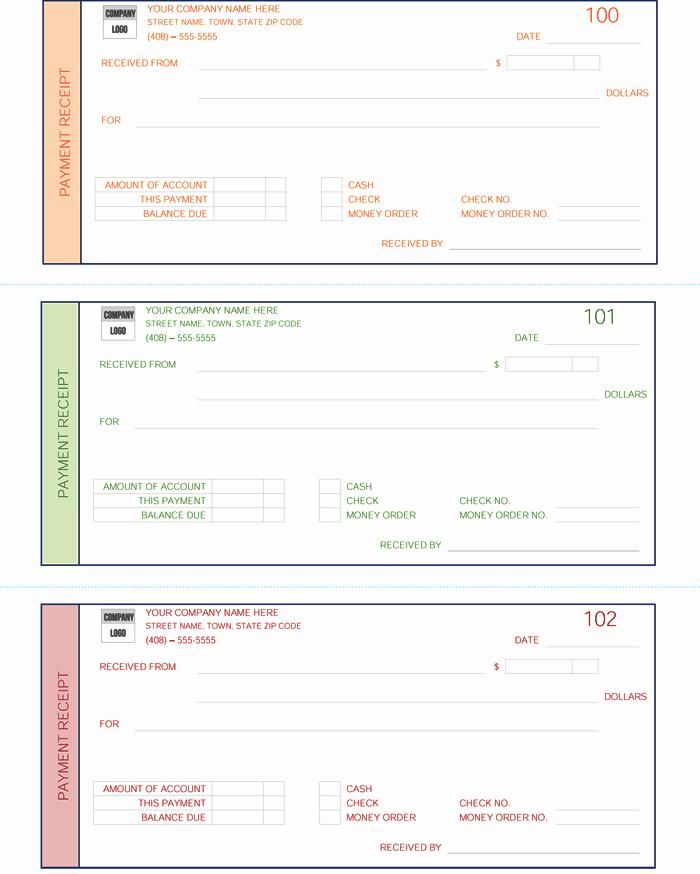 Template for A Receipt New Payment Receipt Template 5 Quick Receipt Maker formats