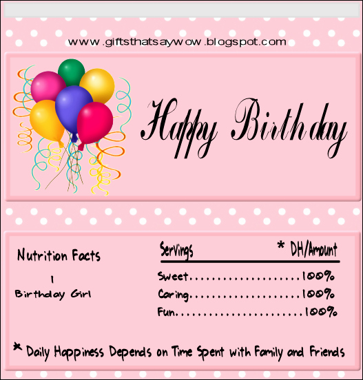 Template for Candy Bar Wrapper Awesome Gifts that Say Wow Fun Crafts and Gift Ideas Free