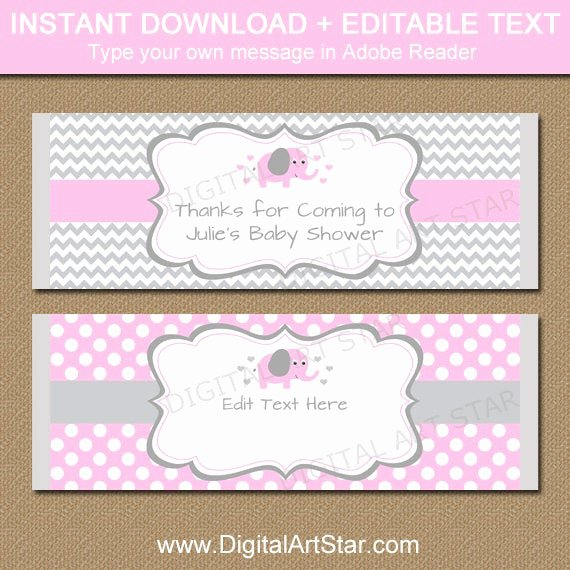 Template for Candy Bar Wrapper Lovely Editable Chocolate Bar Wrapper Template Printable Pink