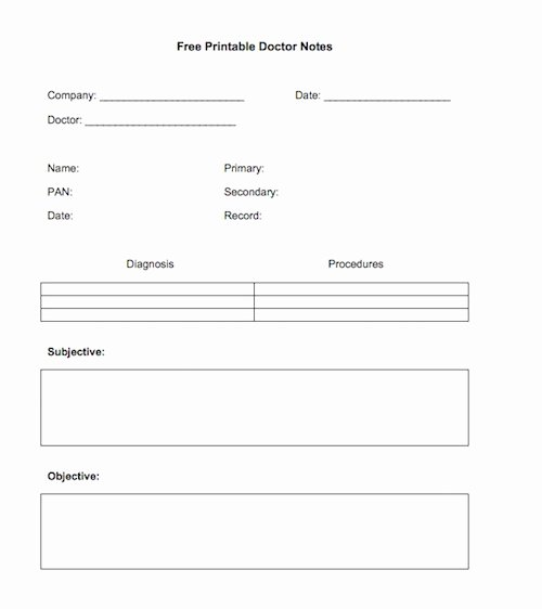Template for Doctors Note Best Of 27 Free Doctor Note Excuse Templates Free Template