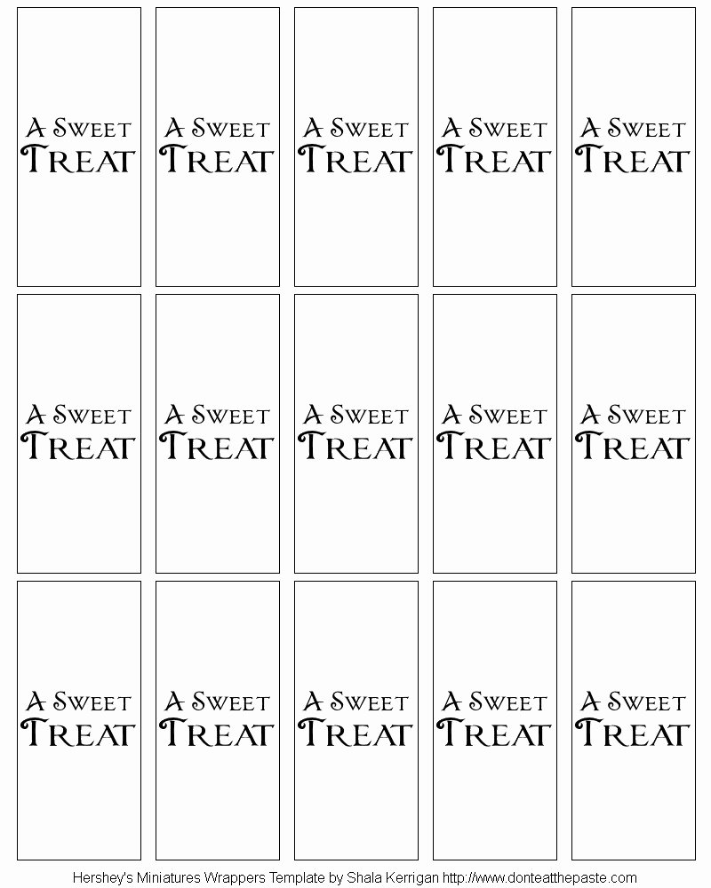 Template for Hershey Bar Wrapper Elegant Template Printable Gallery Category Page 46
