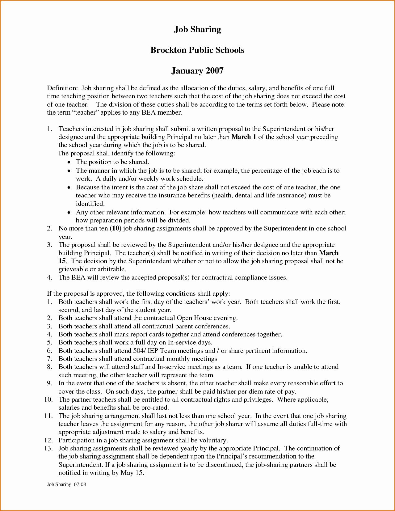 Template for Job Proposal Awesome 4 Job Proposal Sample