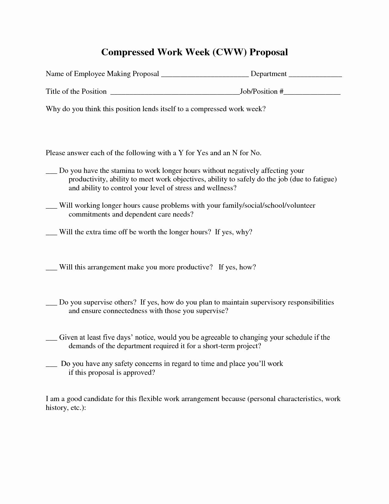 Template for Job Proposal Elegant Job Proposal Template