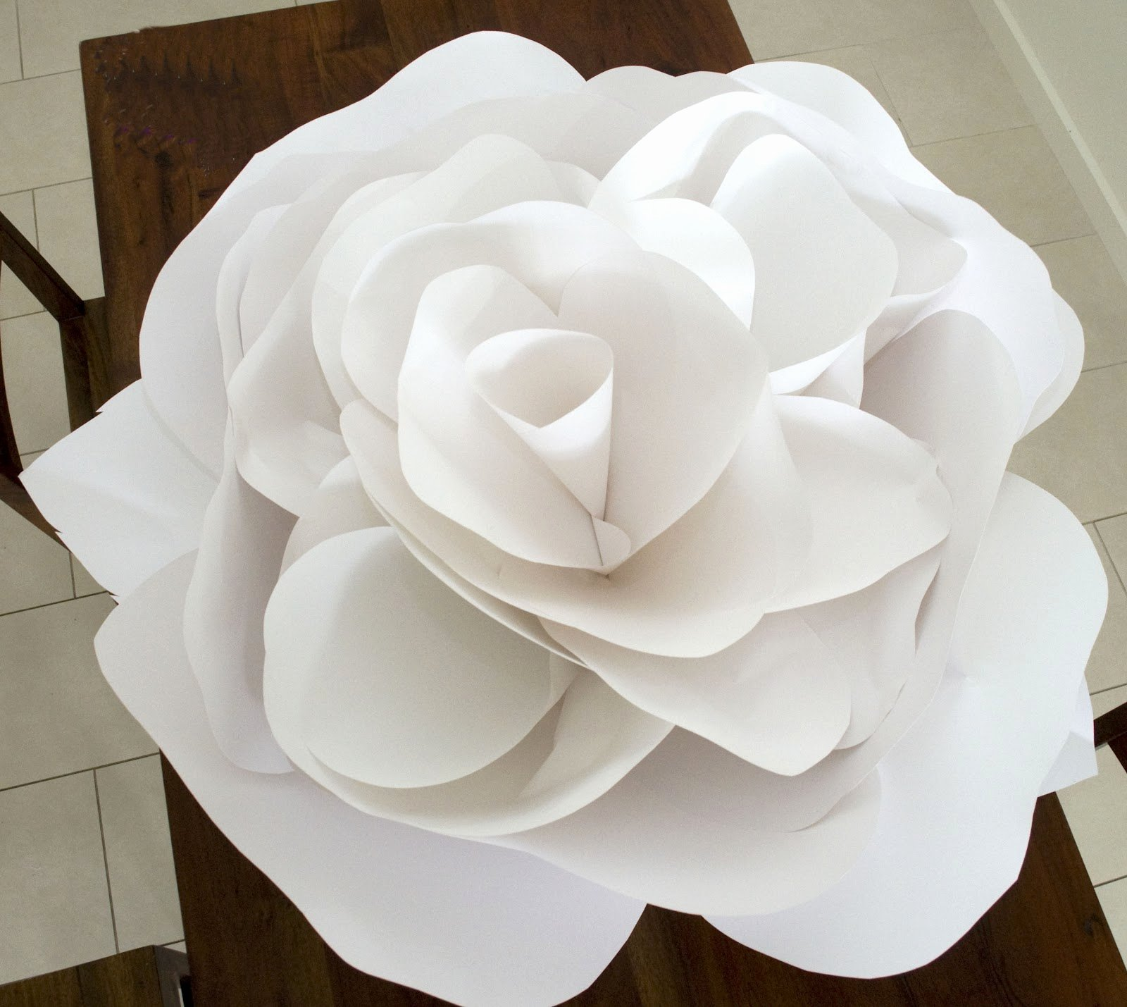 Template for Paper Flowers Elegant Grace Designs Giant Paper Flowers