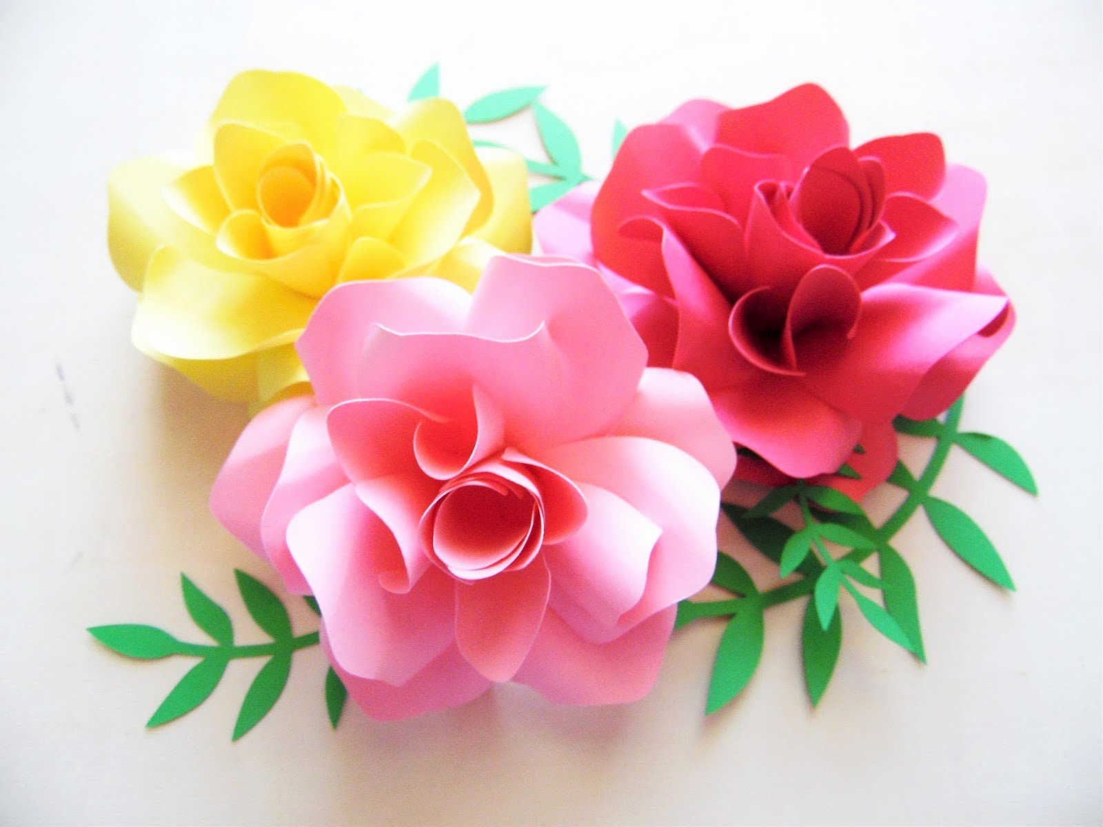 Template for Paper Flowers Inspirational How to Make Diy Paper Roses