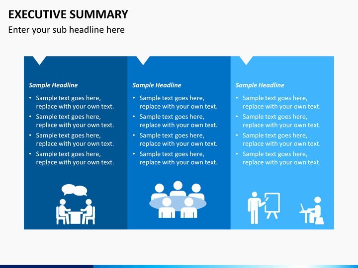 Template Of Executive Summary Luxury Executive Summary Powerpoint Template