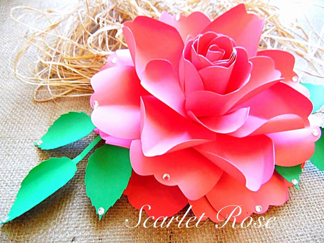 Templates for Paper Flowers Beautiful How to Make Diy Paper Roses