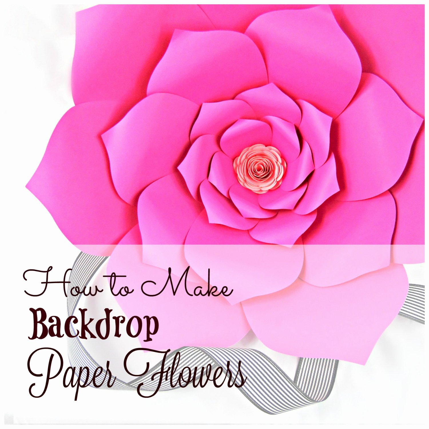 Templates for Paper Flowers Fresh Giant Paper Flowers Pattern Templates & Tutorials