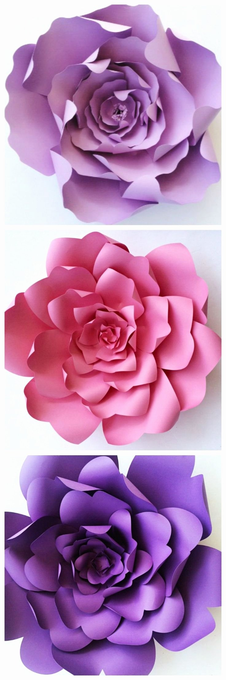 Templates for Paper Flowers Lovely 17 Best Images About Giant Paper Flowers On Pinterest