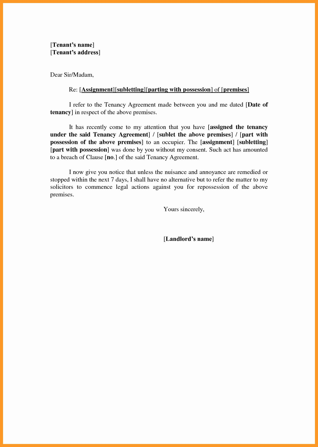 Tenant Letter Of Recommendation Fresh 12 13 Tenancy Reference Letter Sample